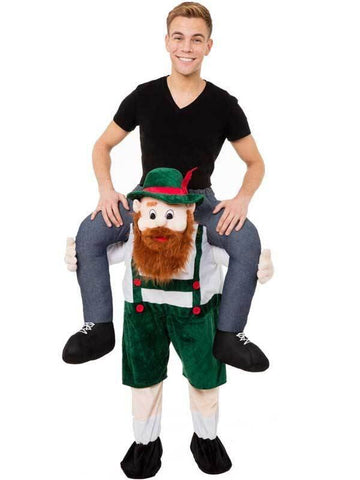 Apparel - Scottish Dancer Carry Me Ride On Stag Mascot Costume