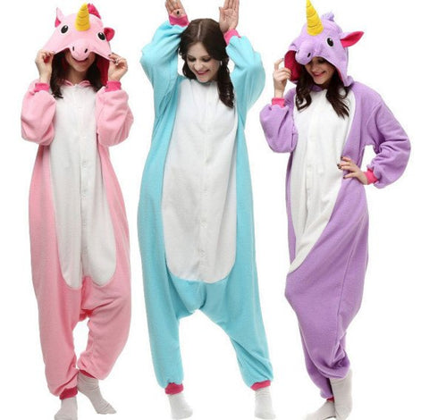 Apparel - Unicorn Onesie Costume Pajamas