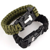Camping - 5 In 1 Survival Paracord Bracelet