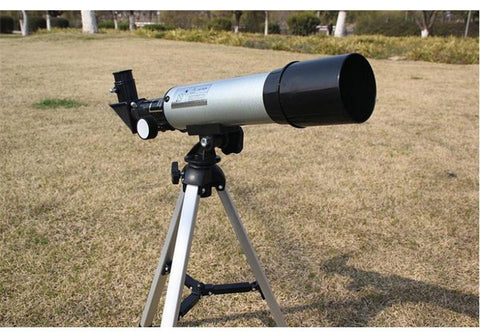 Camping - Astronomical Telescope Aperture F 360 X 50mm Refractive View W/ Tripod