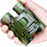 Camping - Long Range High Magnification Mini HD Camo Folding Zoom Binoculars