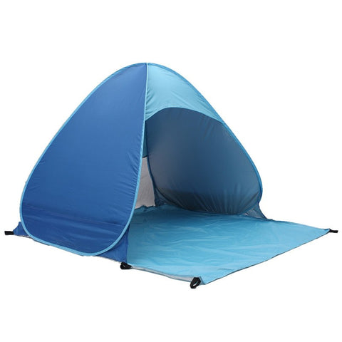 Camping - Portable 3 Persons Automatic Pop Up Tent For Outdoor Camping, Beach, Or Fishing