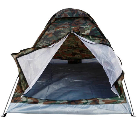 Camping - Portable Camouflage 2 Persons Camping Tent