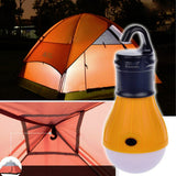 Camping - Portable Outdoor Hanging 3-LED Camping Flashlight