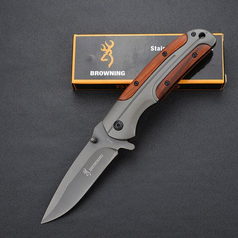 Camping - Super High Quality Titanium Steel Handle Tactical Knife