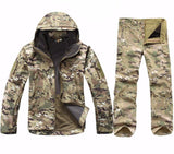 Camping - Tactical Military Hunting Soft Shell Camouflage Jacket