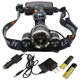 Camping - ULTRA Bright CREE LED Rechargeable Headlamp