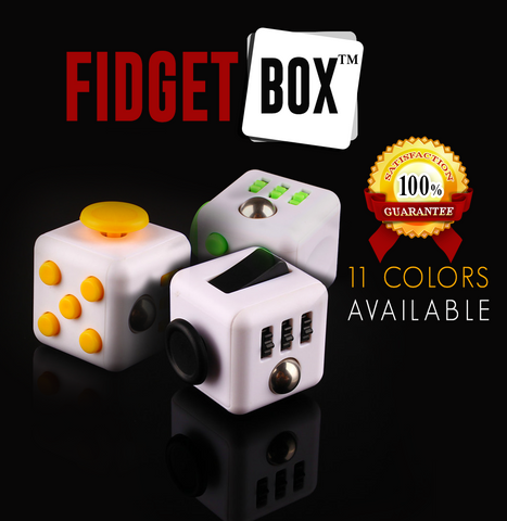 FidgetBox™  - Stress and Anxiety Reliever 100% SATISFACTION GUARANTEE!