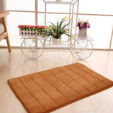 Household - 2 Pack - Memory Foam Bath Rugs