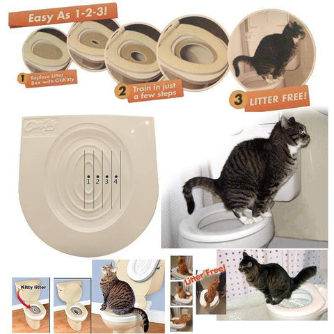 Household - Easy To Learn Cat Toilet Training Kit