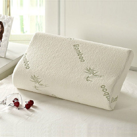 Household - Memory-Foam Pillows With Bamboo Covers