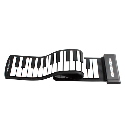 PianoRoll™ - Foldable Electronic Keyboard Piano with Built-in Speaker!