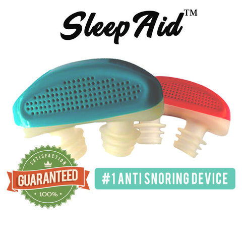 SleepAid™ - Stop Snoring Instantly! 100% Satisfaction Guaranteed!