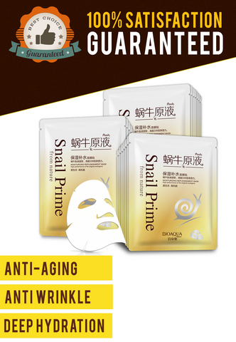 SnailPrime™ - Ultra Deep Moisturizing, Anti-Aging, Anti-Wrinkle Treatment 100% SATISFACTION GUARANTEE!