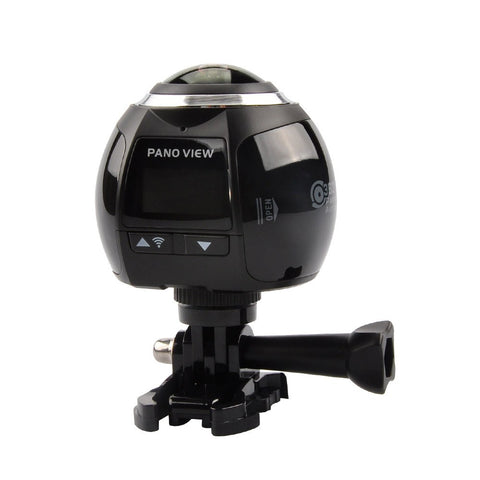 Tech - 360° Ultra HD 4k Panoramic Camera W/ Built In Wi-Fi