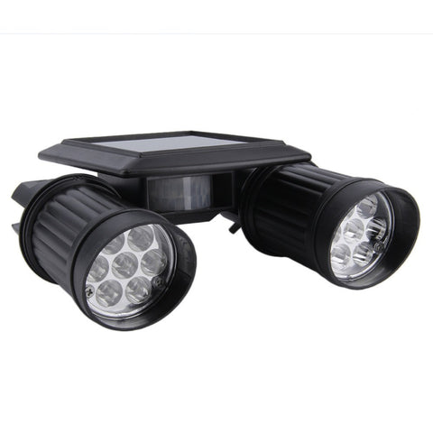 ... Tech - Solar Powered Security Two Super Bright Spot Lights With Motion Detector ...  sc 1 st  Hobbies Discount & Solar Powered Security Two Super Bright Spot Lights with Motion ...