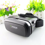 Tech - Virtual Reality 3D Glasses Headset Movies Games + Bluetooth Remote Control