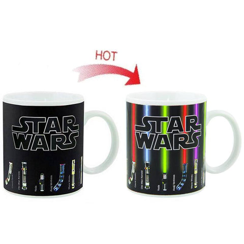 The Force Awaken Star Wars Light Saber Coffee Mug