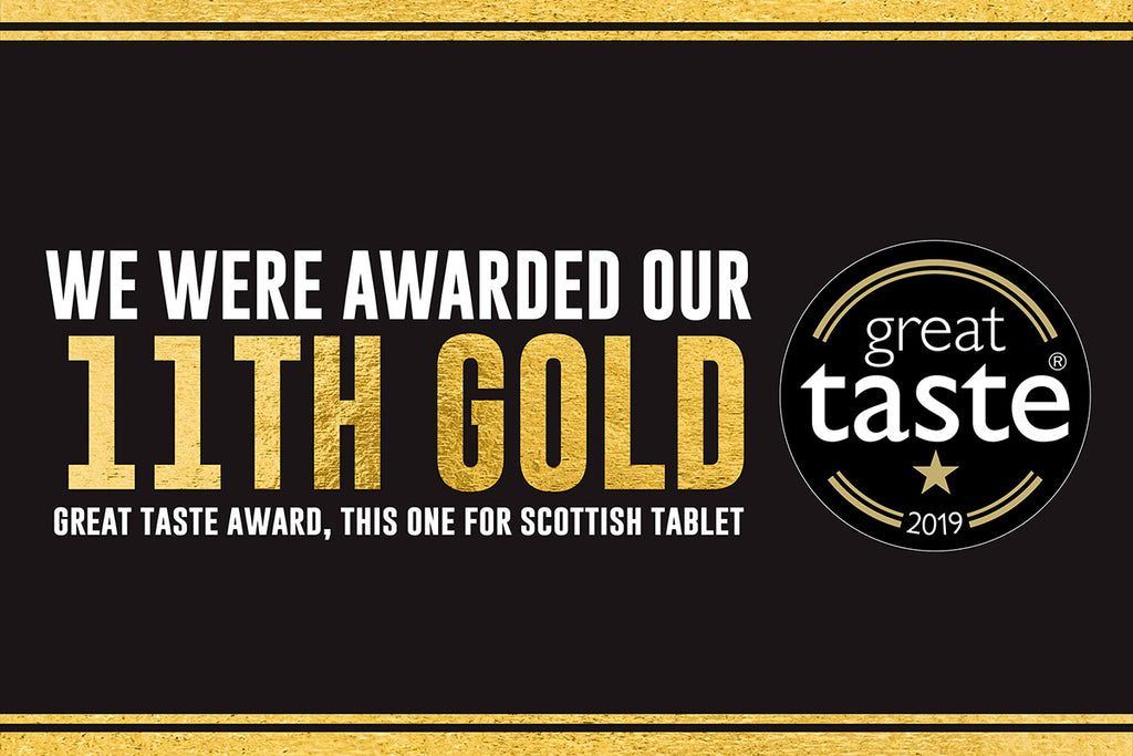 Ochil Fudge Win 11th Great Taste Award