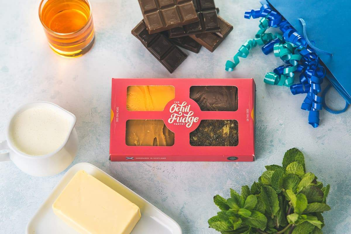 Mother's Day Fudge Gift Box