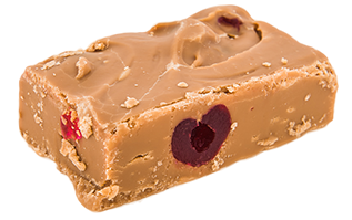 Cherry Bakewell Fudge