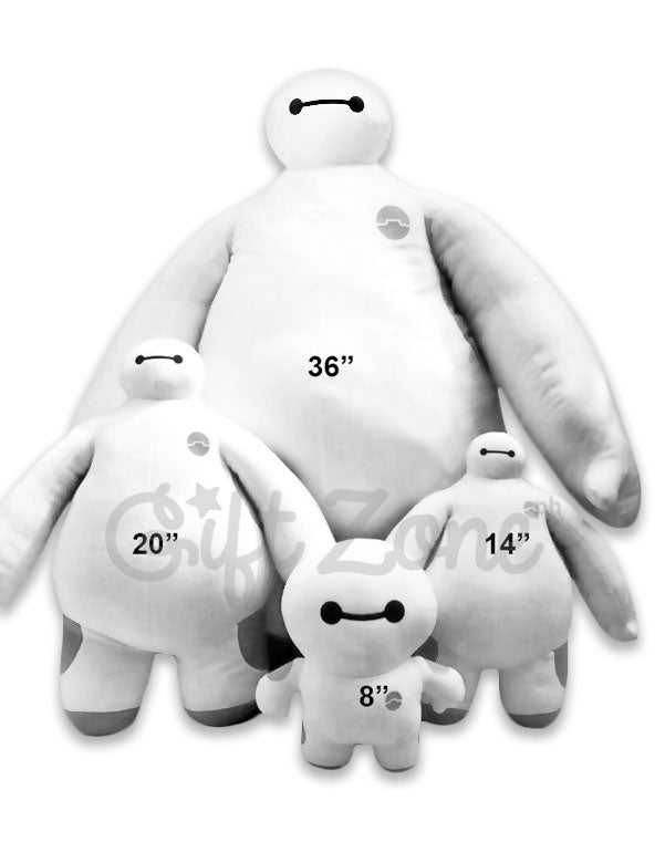 Baymax Stuffed Toys Size Reference