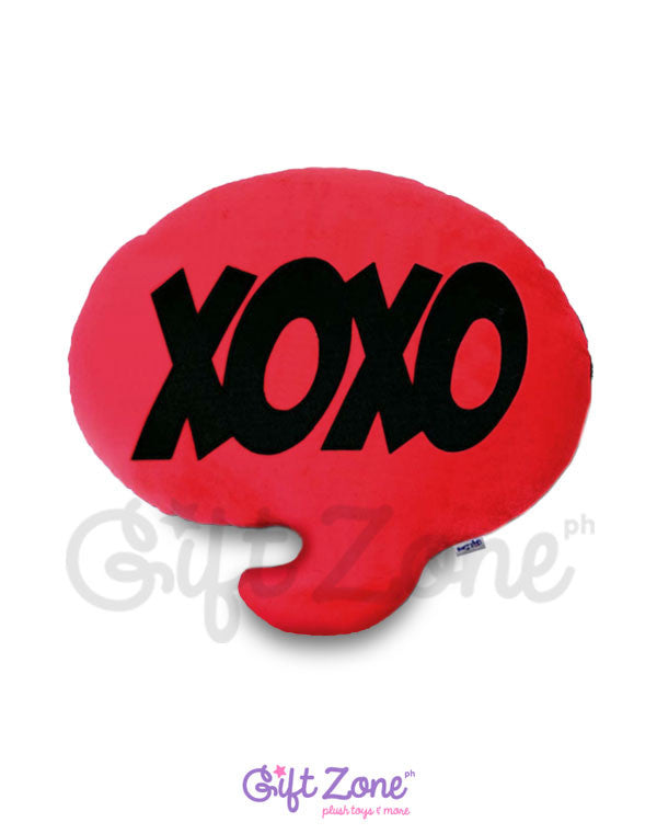 XOXO Chat Pillow
