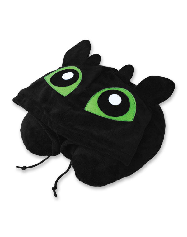 Toothless Hoodie Travel Neck Pillow