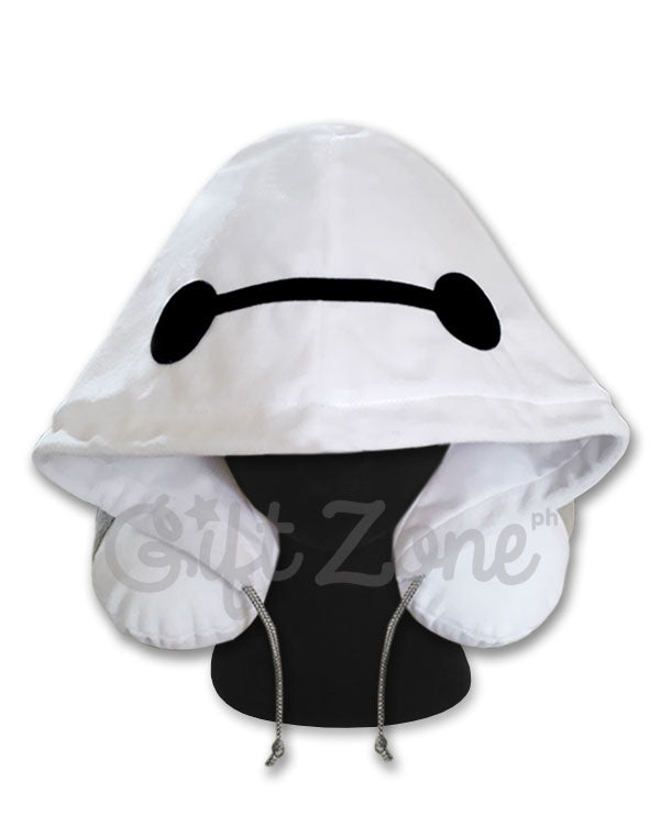 Baymax Hoodie Travel Neck Pillow