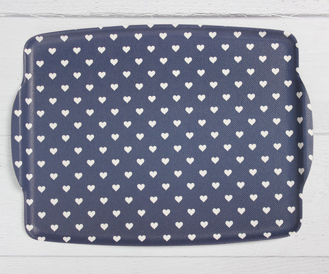 Blue Heart Tablett