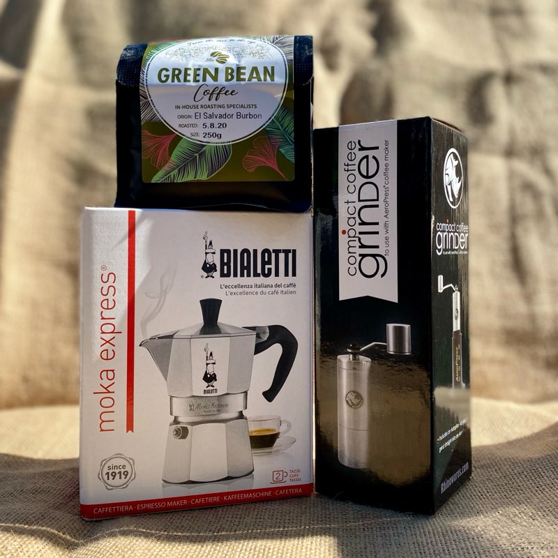 MOKA POT STARTER KIT