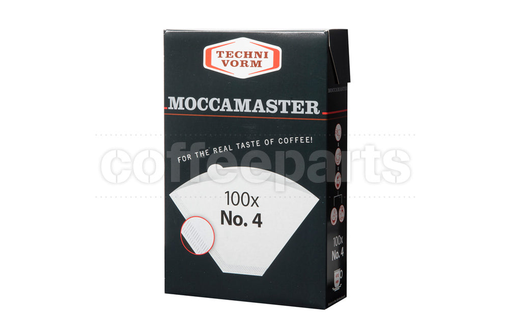 MOCCAMASTER #4 FILTER PAPERS