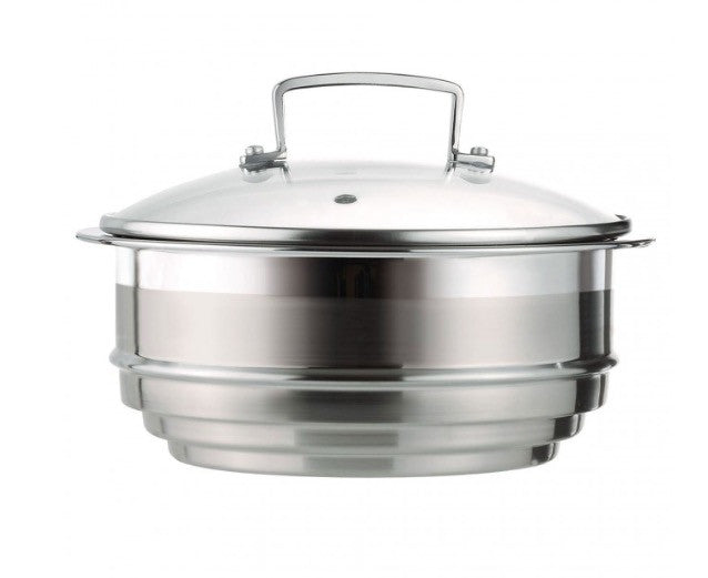 Le Creuset Multi Steamer with Glass Lid for 3-ply Stainless Steel - 阿太雜貨 (英國,香港集運)