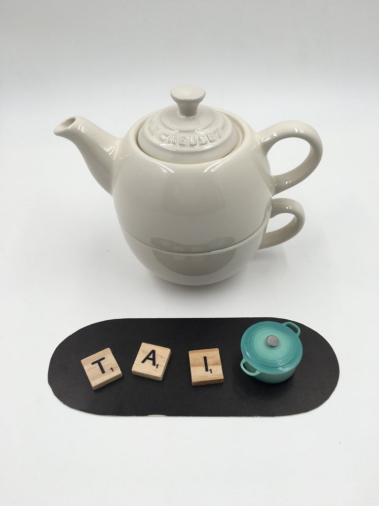 Le Creuset Tea for One (Pearl) - 阿太雜貨 (英國,香港集運)