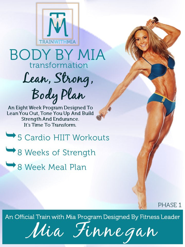 BODY BY MIA, FIT PACKAGE DIGITAL PLAN