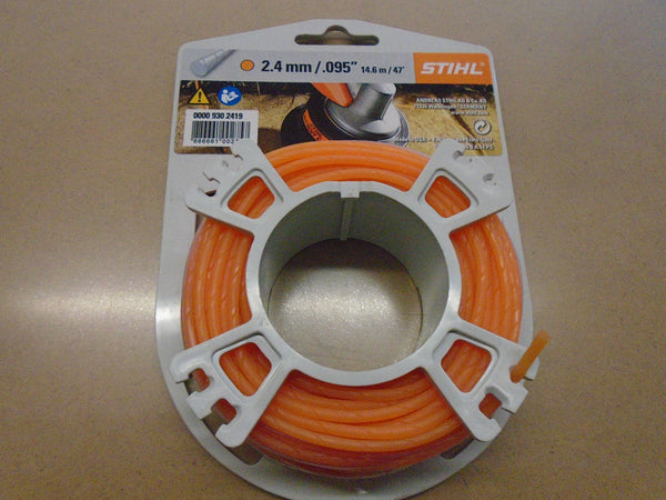 "STIHL 2.4mm .095"" Quiet Trimmer Line"