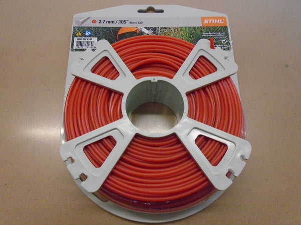 "STIHL 2.7mm .105"" Heavy Duty Round Trimmer Line"