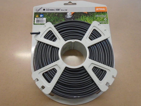 "STIHL 3.3mm .130"" Heavy Duty Round Trimmer Line"