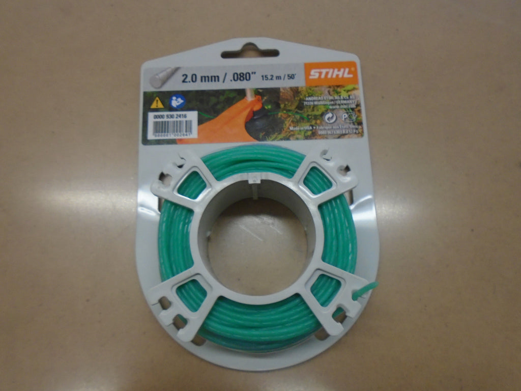 "STIHL 2.0mm  .080"" Heavy Duty Round Trimmer Line"