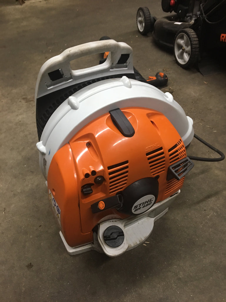 USED STIHL BR450 backpack blower
