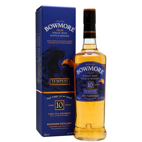 Bowmore Tempest 10 Years 55,1° 0.7L
