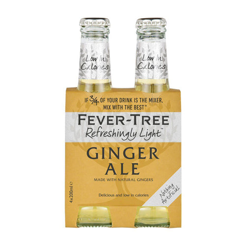Fever Tree Ginger Ale 20 Cl 4-Pack