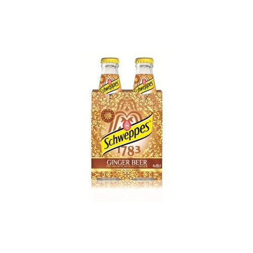 Schweppes Ginger Beer premium Tonic 20CL 4-Pack-Ginsonline