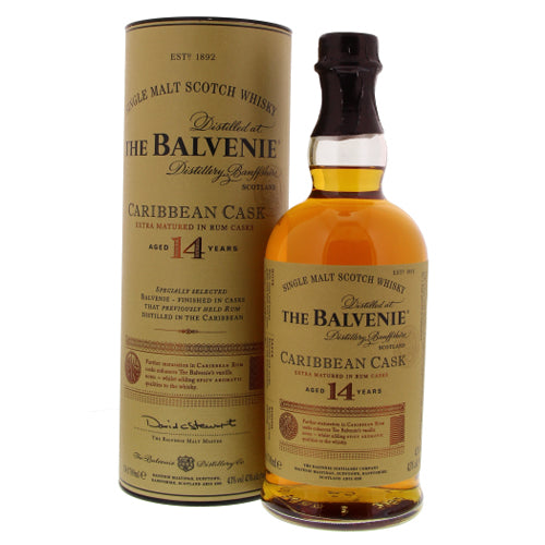 Balvenie 14 Years Carribean Cask 43° 0.7L-Ginsonline