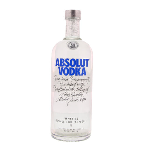 Absolut Blue 40° 1L