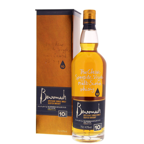 Benromach 10 ans 43 ° 0.7L-Ginsonline