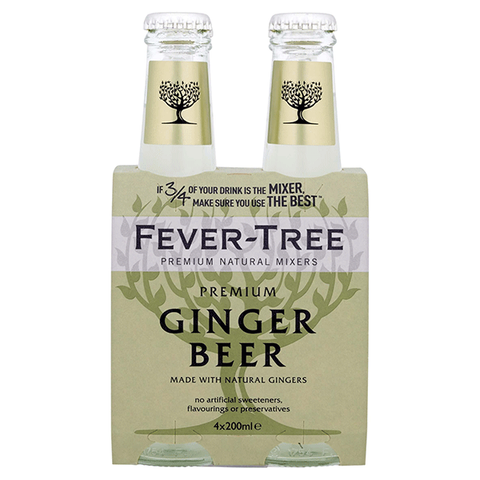 Fever-Tree Ginger Beer 20cl 4-pack