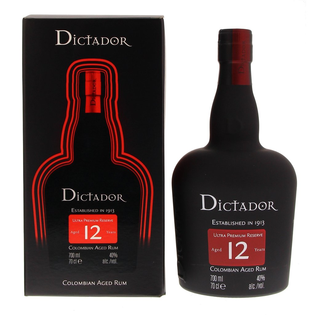 Dictador 12 Years 40° 0.7L-Ginsonline