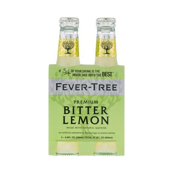 Fever Tree Bitter Lemon Tonic 20 Cl 4-Pack-Ginsonline