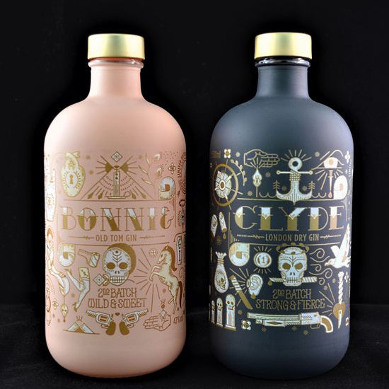 BONNIE & CLYDE LIMITED EDITION GIN BATCH2 2X50CL